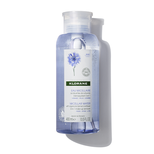 1 ecomm cornflower micellar water with soothing cornflower 400ml front repack 540x540 0919 1
