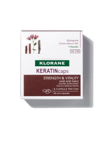 KERATINcaps Hair and Nails Dietary Supplements 30 Capsules