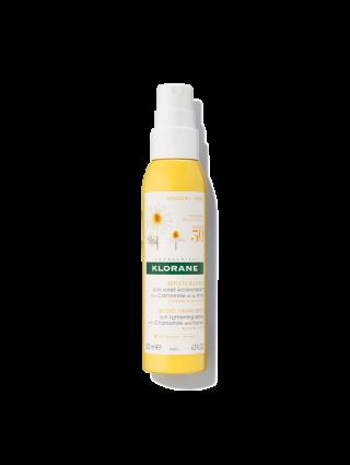 Sun Lightening Spray with Chamomile and honey