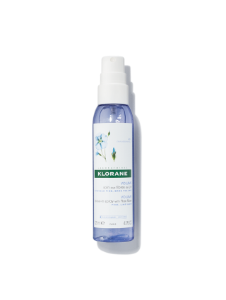 Leave-in Spray with Flax Fiber