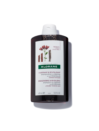 Shampoo with Quinine and B vitamins