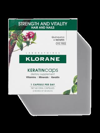 KERATINcaps Hair and Nails Dietary Supplements