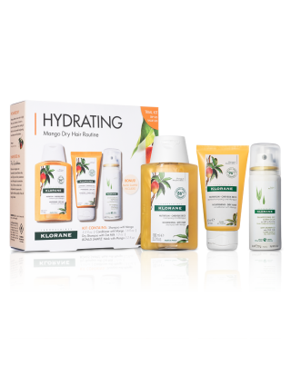 Hydrating Mango Dry Hair Routine Trial Kit