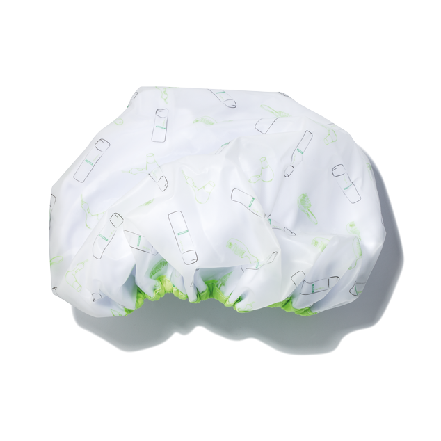 E05425 shower cap terrycloth lined 098 1