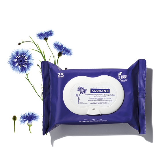 Biodegradable, pre-moistened cleansing wipes remove makeup and impurities from face and eyes. Skin feels clean, soothed and refreshed.