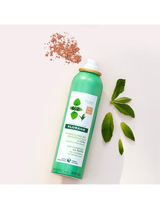 Dry Shampoo with Nettle - Dark Hair