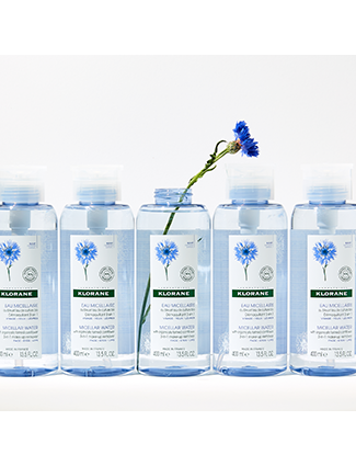 Micellar water with organically farmed Cornflower