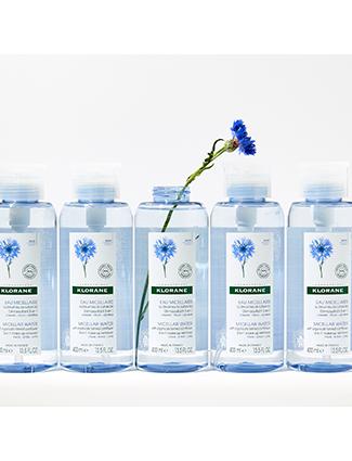 Micellar water with organically farmed Cornflower