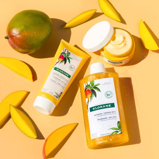Hydrating Mango Dry Hair Routine Trial Kit