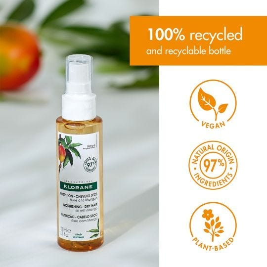 Nourishing Dry Hair Oil with Mango