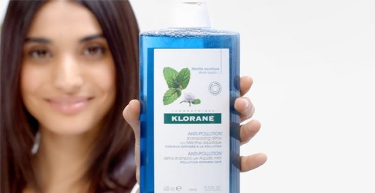 How to Shampoo with Aquatic Mint