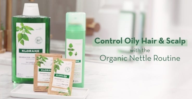 how to OIL CONTROL ROUTINE WITH ORGANIC NETTLE