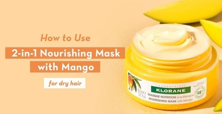 How to Nourishing 2-in-1 Mask with Mango